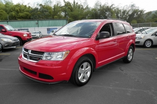 Dodge Journey Se Rojo 2013