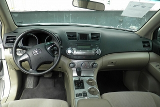 Toyota Highlander Base Se Blanco 2011
