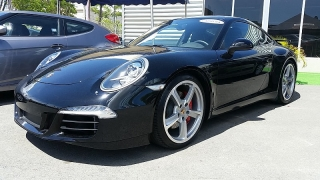 Porsche 911 4s Negro 2013