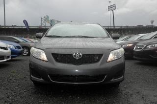Toyota Corolla Le Gris Oscuro 2009