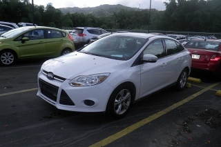 Ford Focus Se Blanco 2013