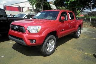 Toyota Tacoma Prerunner Rojo 2014