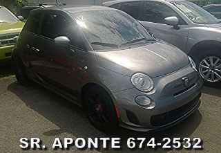FIAT ABARTH 2013 CHARCOAL MANUAL STD STANDARD VENTA AUTO EUROPEO EUROJAPON
