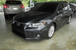 Lexus Ct 200h 4dr Fwd Hybrid Gris_Oscuro 2011