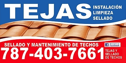 TEJAS Y SELLADO DE TECHOS