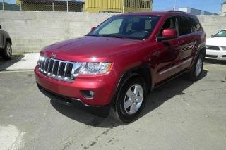 Jeep Grand Cherokee Laredo Rojo Vino 2012