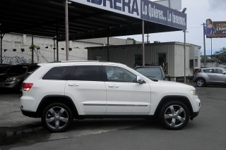 Jeep Grand Cherokee Overland Blanco 2012