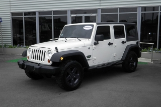 Jeep Wrangler Unlimited Sport Blanco 2010