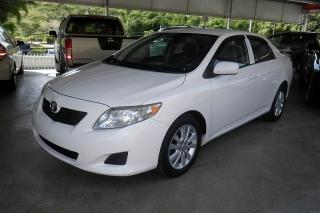 Toyota Corolla S Blanco 2009