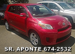 SCION XD 2010 ROJA