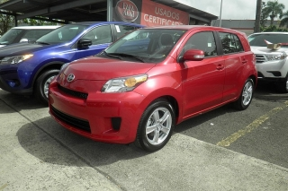 Scion Xd Rojo 2014