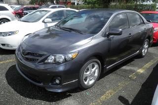 Toyota Corolla S Gris Oscuro 2013