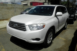 Toyota Highlander Base Blanco 2010