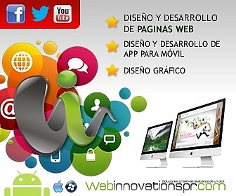 Diseño de Paginas Web Innovations PR
