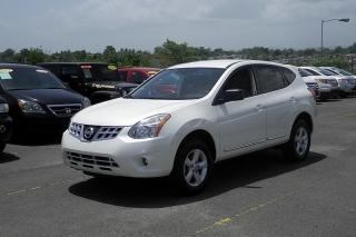 Nissan Rogue S Blanco 2012