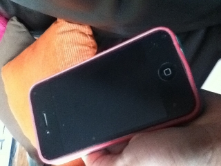 iPhone 4 color negro