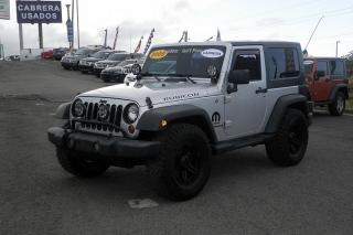 Jeep Wrangler X Plateado 2009