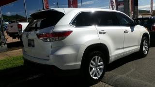 Toyota Highlander LE Blanco 2014