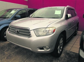 TOYOTA HIGHLANDER LTD HIBRIDA