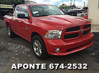 DODGE RAM 1500 SPORT 2013 ROJA PICK UP