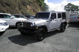 Jeep Wrangler Unlimited Sport Gris 2010