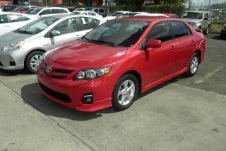 Toyota Corolla L Rojo 2013