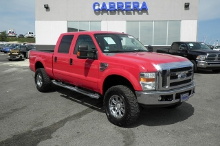 Ford Super Duty F-250 Srw Xl Rojo 2008
