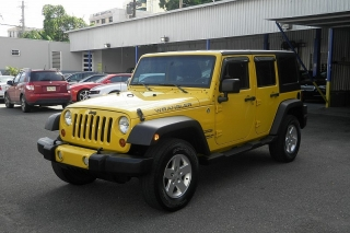 Jeep Wrangler Unlimited Sport Amarillo 2011