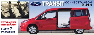 FORD TRANSIT CONNECT WAGON 2014
