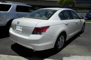 Honda Accord Sdn Lx-p Blanco 2010