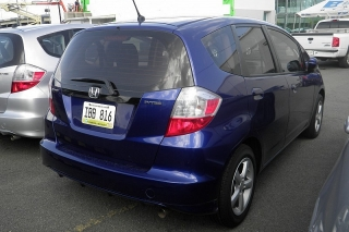 Honda Fit Base Azul 2012