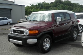 Toyota Fj Cruiser Marron 2008