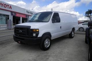 Ford Econoline Cargo Van Commercial Plateado 2013