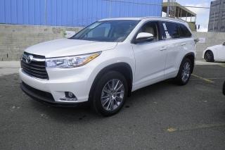 Toyota Highlander Limited Blanco 2014