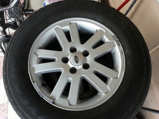 "aros 17"" de ford explorer 2008"