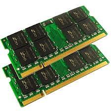 Memoria Ram de laptop y desktop de 2gb y 1gb