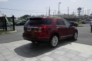Ford Explorer Limited Rojo Vino 2014