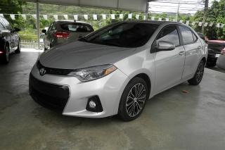 Toyota Corolla S Plus Plateado 2014