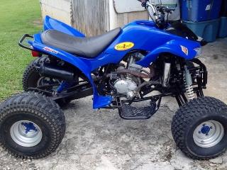 ATV 4 Wheeler Baja 250cc 2007