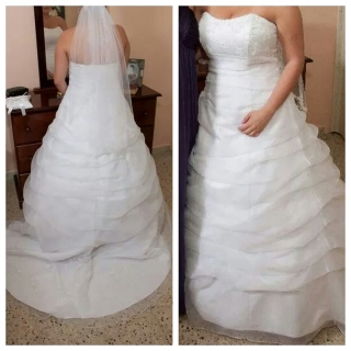 Traje de novia size 12