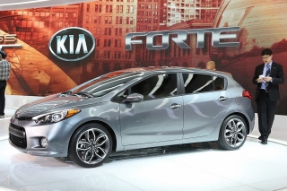 Kia Forte Five  2014 Charcoal