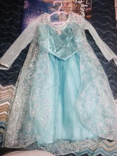 Traje de Elsa/ Frozen