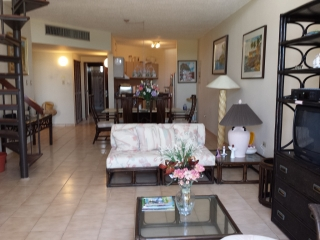 Crescent Beach Penthouse con vista directa al mar.