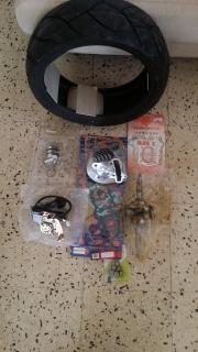 kit para vento scooter
