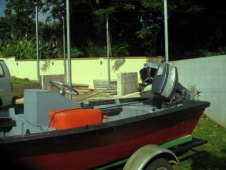 YOLA 17 PIES CENTER CONSOLE,MOTOR 40HP Y CARRETON