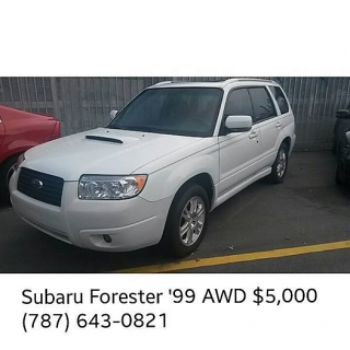 Subaru Forester •GANGA•