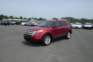 Ford Explorer Base Rojo Vino 2015
