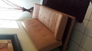 sofa cama color  crema