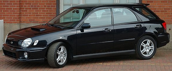 2002 Subaru WRX Impreza Turbo