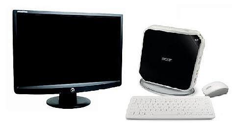 """Computadora Acer Aspire R1600 con Monitor LCD de 19"""""""